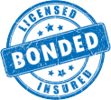 licensed bonded